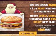 Merry KINGmas da Burger King