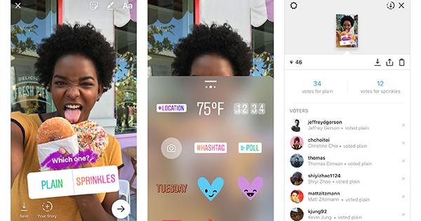 Instagram rende disponibili sondaggi in tempo reale nelle Storie