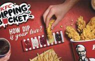 Kentucky Fried Chicken lancia il Dipping Bucket con una nuova campagna digital