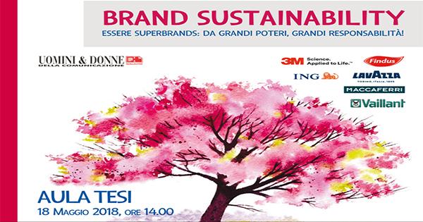 """Superbrands promuove il Convegno """"Brand Sustainability: da grandi poteri, grandi responsabilità"""""""
