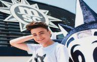 MSC Crociere: la web star 18enne Luciano Spinelli fa il Prof in crociera