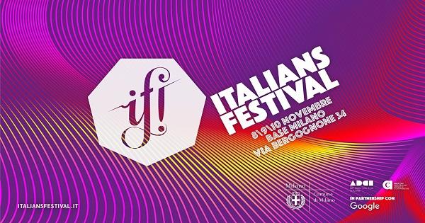 IF! Italians Festival 2018: le nostre video-interviste