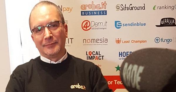 INSIDE BUSINESS: l'intervista a Fabrizio Gibello, Sales Executive di Aruba Business