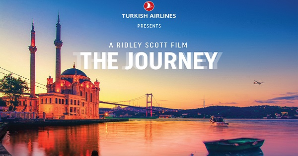 Il viaggio di Turkish Airlines verso il nuovo Istanbul Airport inizia con un cortometraggio del regista Ridley Scott