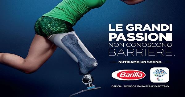 Barilla e JWT raccontano la passione degli atleti paralimpici