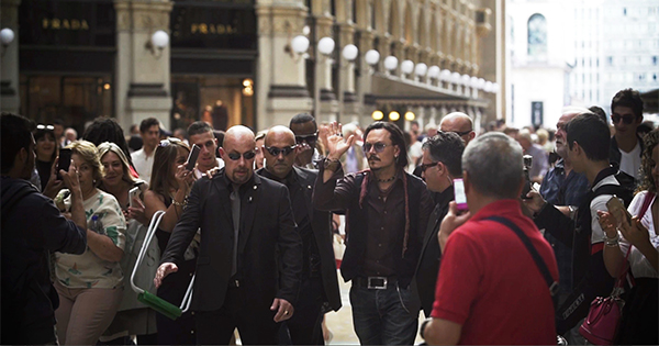 DUDE & Mediaset Premium portano Hollywood a Milano per un giorno