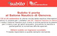 Il Salone Nautico di Genova sceglie Subito per l'edizione 2016