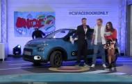 La nuova Citroën C3 Facebook lanciata live sul social