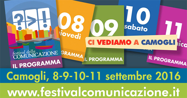 A Camogli l'appuntamento è con il Festival della Comunicazione