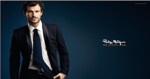 Philippe Matignon lancia la prima collezione di calze uomo