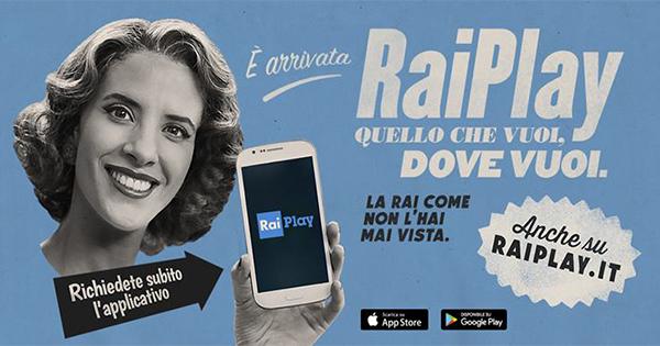 Nasce RaiPlay, la nuova offerta digitale del servizio pubblico