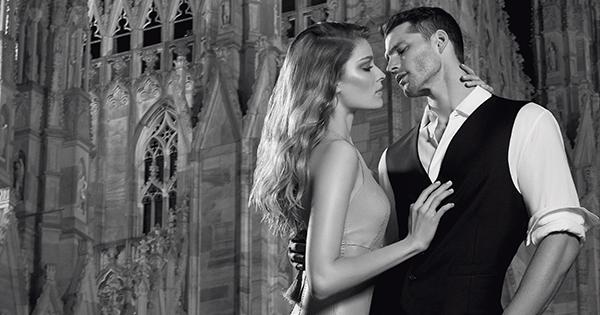 On air la nuova campagna Trussardi Parfums