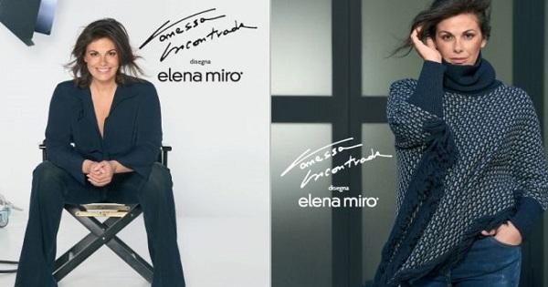 Vanessa Incontrada disegna per Elena Mirò