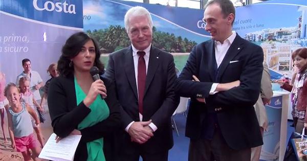 Intervista a Carlo Schiavon e Massimo Brancaleoni di Costa Crociere al TTG Incontri 2016