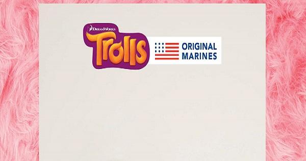 """Original Marines presenta la nuova promozione in store """"Trolls"""""""