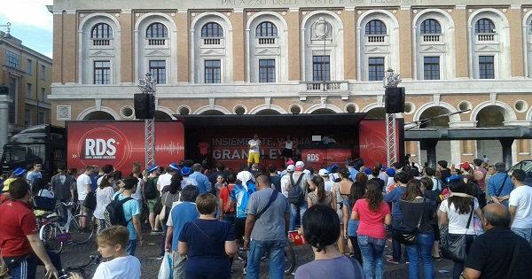 Monza Rally Show sposa Radio RDS