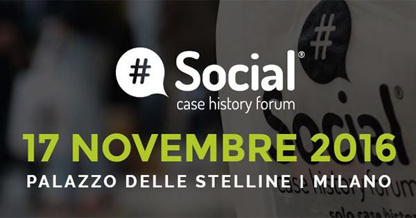 Social Case History Forum 2016 – Milano