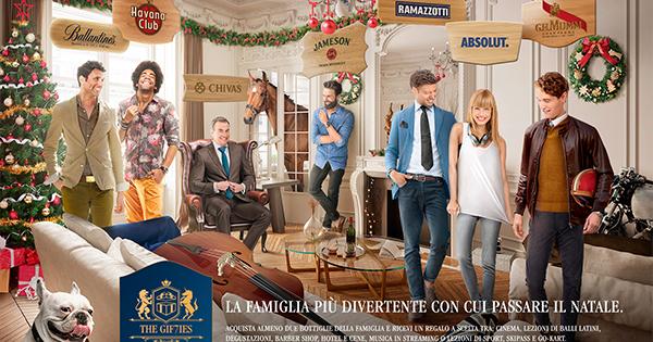 TLC Marketing firma la nuova promozione di Natale Pernod Ricard