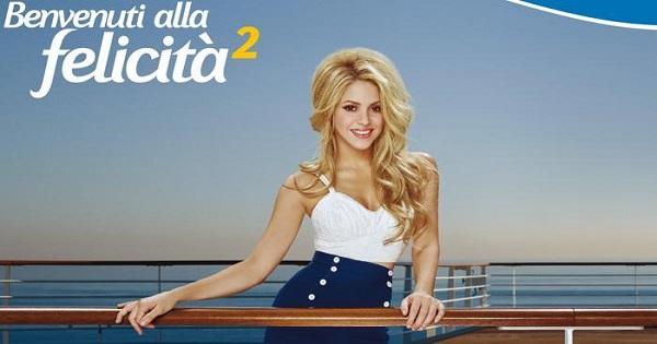 Shakira e Costa Crociere
