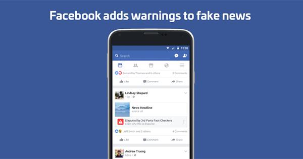Facebook scende in campo contro la diffusione di notizie false