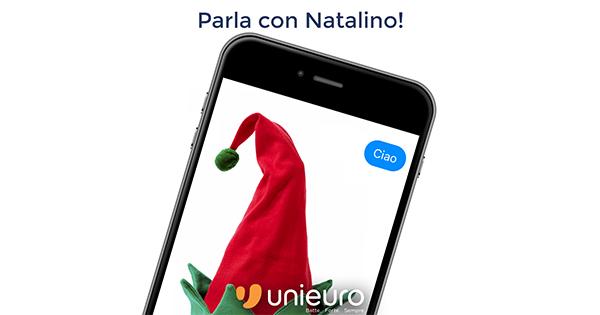 Unieuro presenta Natalino, il nuovo chatbot pensato per assistere gli utenti su Facebook