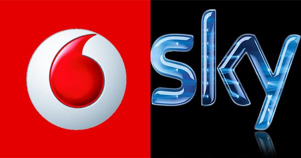 Accordo tra Vodafone Italia e Sky per l'Internet TV