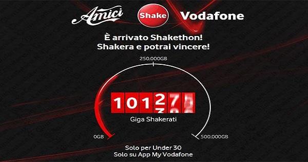 Vodafone Italia e Amici: al via lo Shakethon