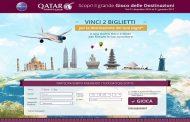 La Qatar Airways regala biglietti