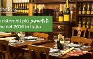 Ristoranti: le tendenze food del 2017 e la mappa delle abitudini gastronomiche del 2016