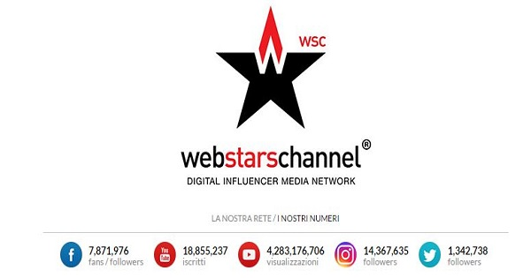 360.000 copie vendute per i creator di Web Stars Channel