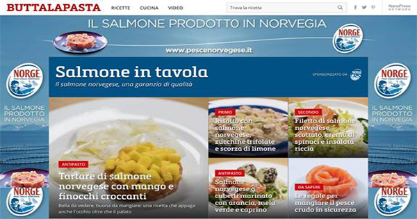 "Trilud Group firma lo speciale ""Il salmone in tavola"" per il Norwegian Seafood Council"