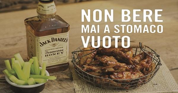 Bere responsabilmente con Jack Daniel's