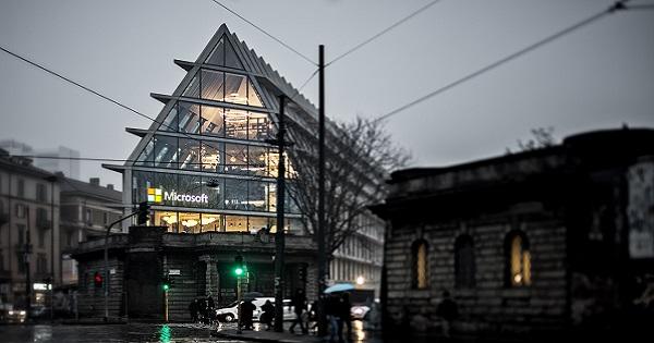 Nuova Microsoft House a Milano