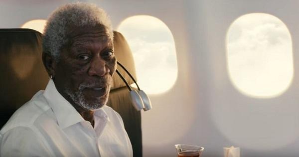 Morgan Freeman per Turkish Airlines
