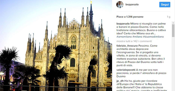 Starbucks sbarca in Italia e a Milano spuntano le palme