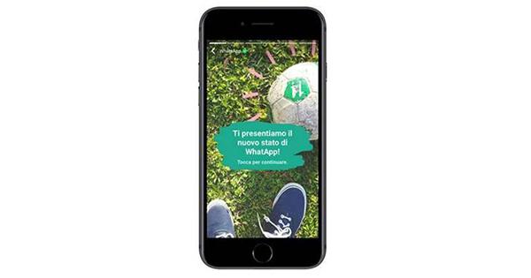 WhatsApp sempre più social: arriva la funzione Stato