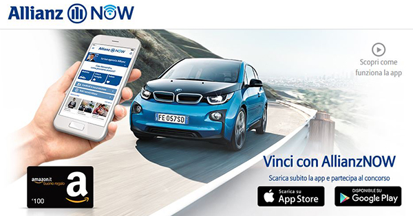 On air la campagna dedicata ad AllianzNOW, la app che semplifica la vita