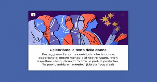 La Festa della Donna nei social media