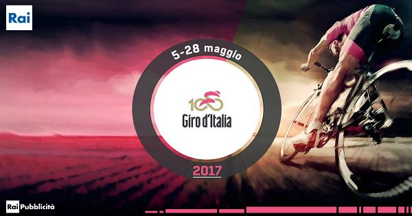 Rai Pubblicità e Giro d'Italia 2017
