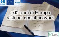 I 60 anni di Europa visti nei social network