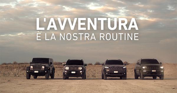 On air il nuovo film di Jeep per la regione EMEA