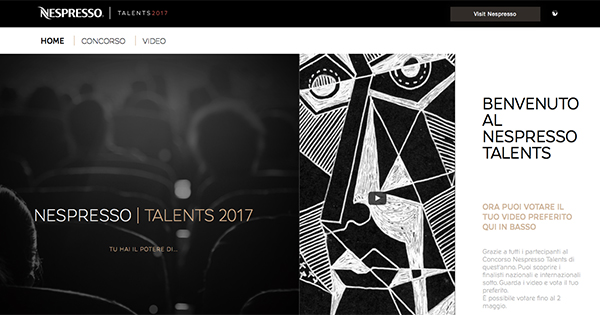 Annunciata la shortlist del video vertical contest Nespresso Talents 2017