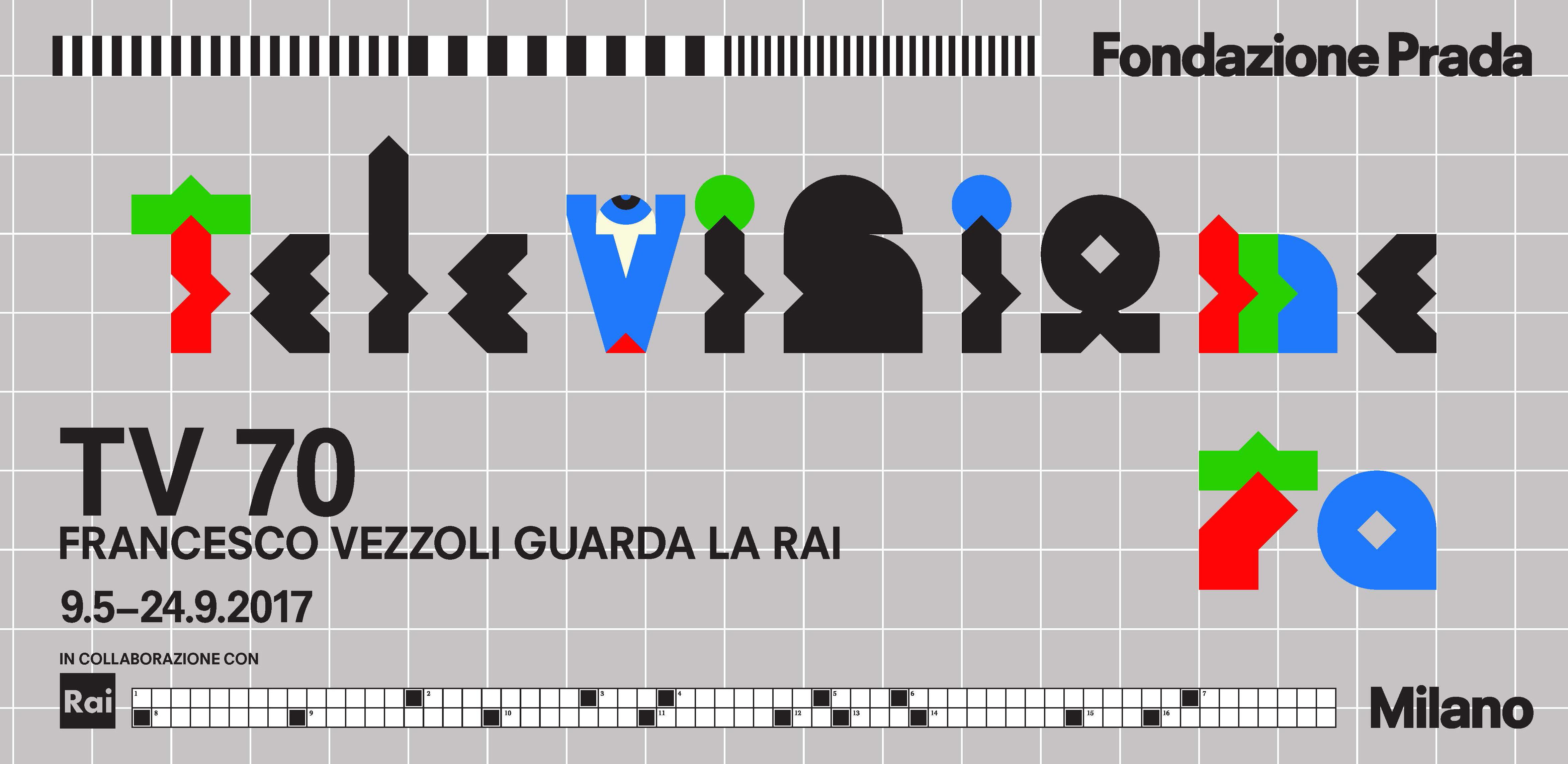 "Fondazione Prada presenta ""TV 70: Francesco Vezzoli guarda la Rai"""