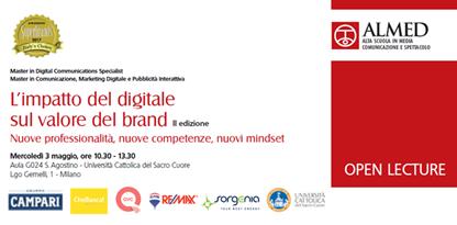 """Superbrands e ALMED promuovono il Convegno """"L'impatto del digitale sul valore di brand"""""""