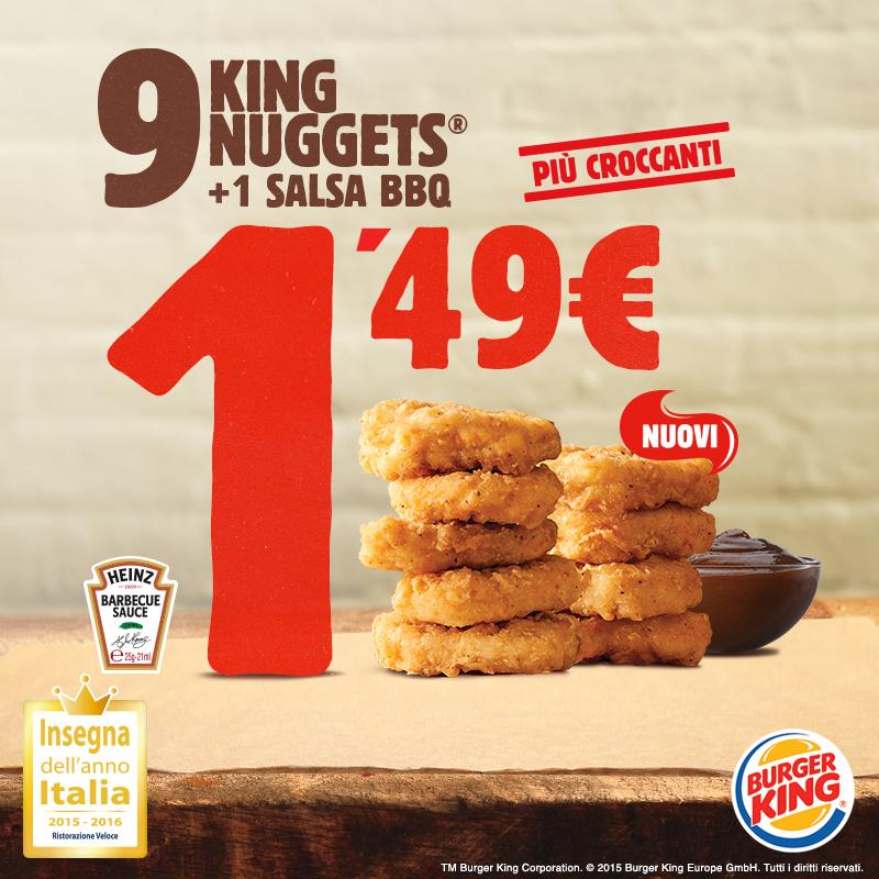 Burger King: a ritmo di rap tornano i King Nuggets
