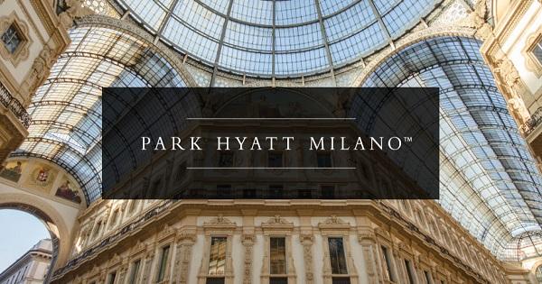 The 6th per Park Hyatt Milano
