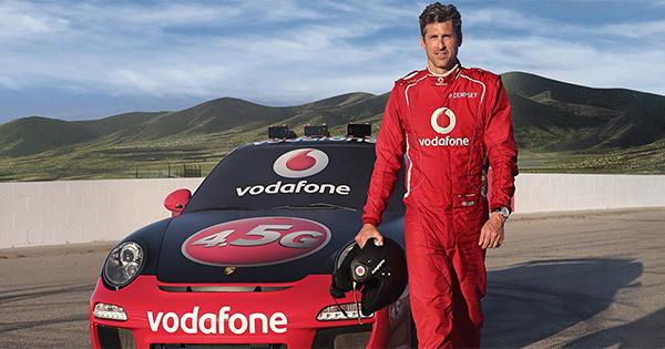 Vodafone lancia una campagna pubblicitaria dedicata alla nuova rete 4.5G