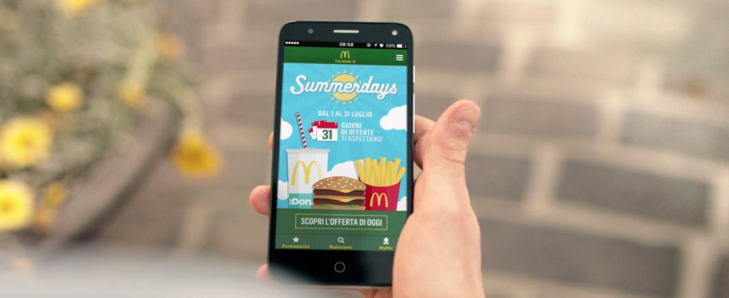 Via ai Summerdays di McDonald's. Firma gli spot Leo Burnett