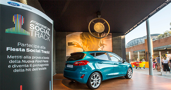 L'estate di Ford a ritmo della Nuova Fiesta