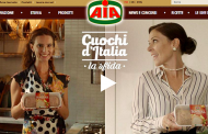 """YAM112003 firma per Aia la campagna digital """"Cuochi d'Italia – La sfida"""""""